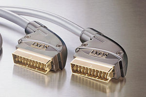 IXOS XHT801-150 1.5m Silver Plated Scart to Scart Lead